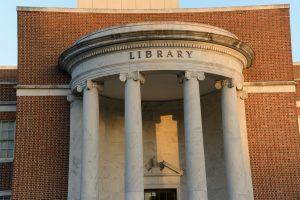 jackson library rotunda with columns